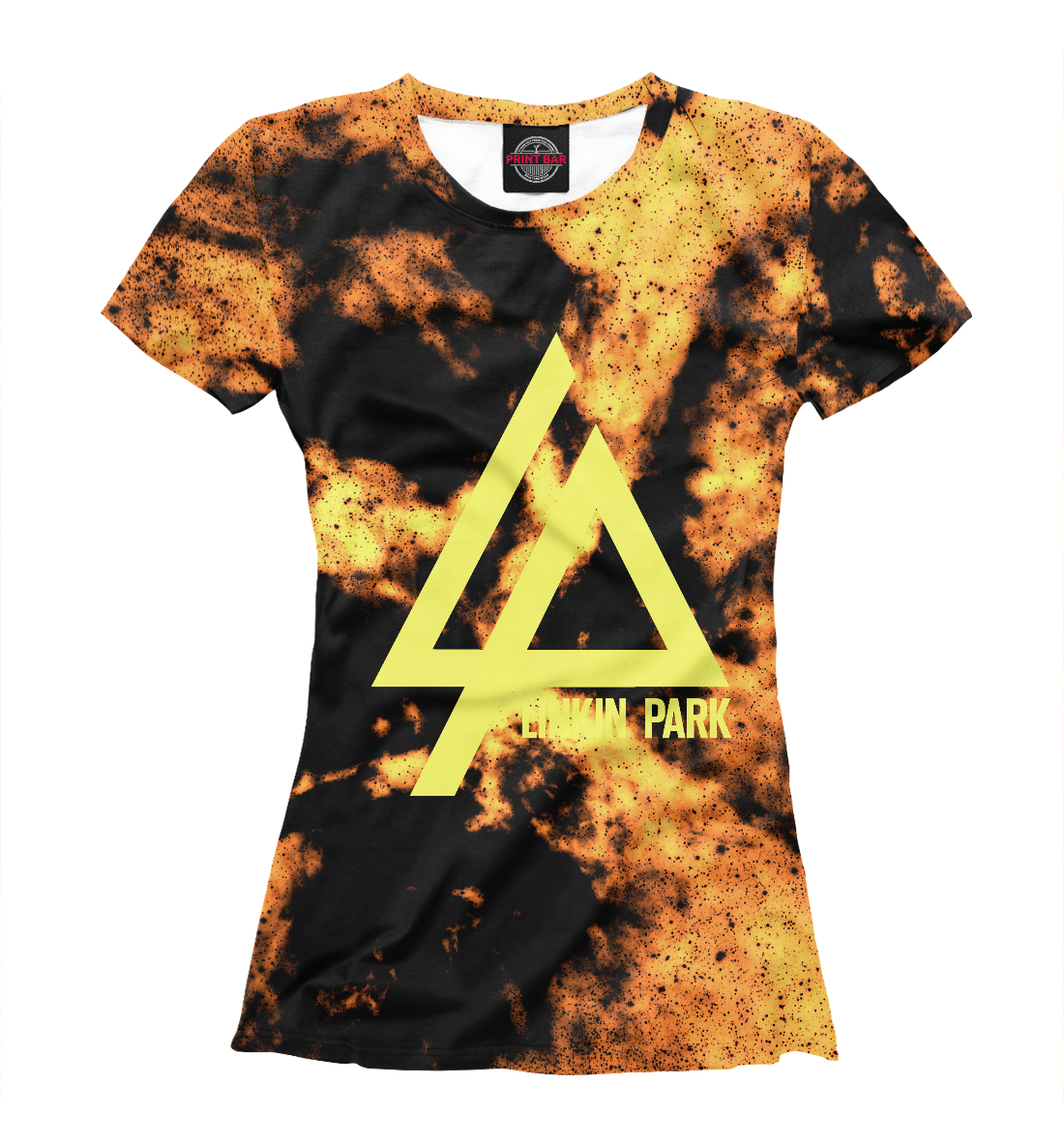 Купить Linkin Park Orange&Black collection, Printbar, Футболки, LIN-519169-fut-1