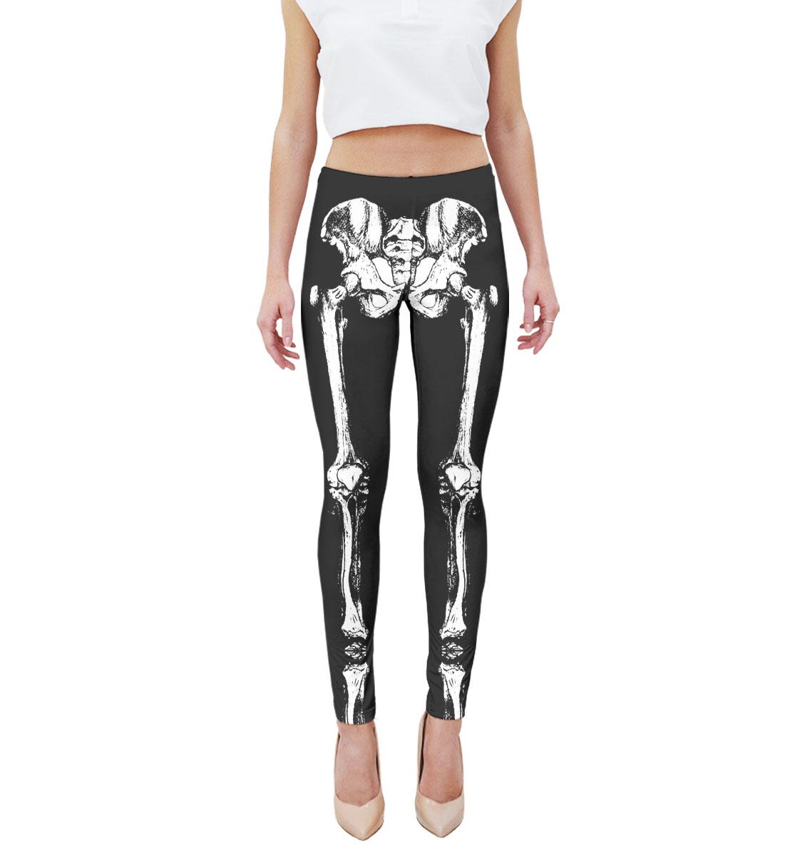 Купить Скелет, Printbar, Леггинсы, NWT-425159-lgs-1