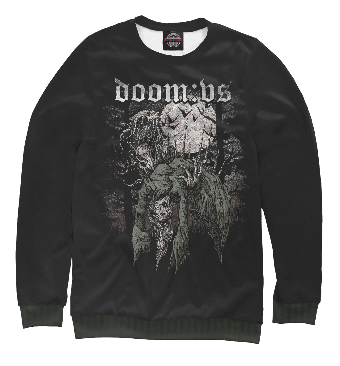 Купить Doom: VS, Printbar, Свитшоты, MZK-398860-swi-1