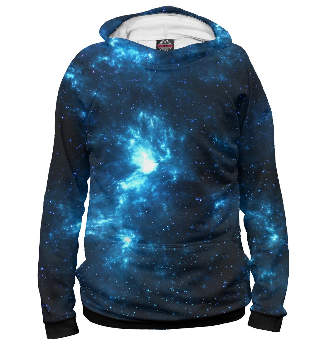 Купить Синий космос, Printbar, Худи, HIP-150790-hud-1