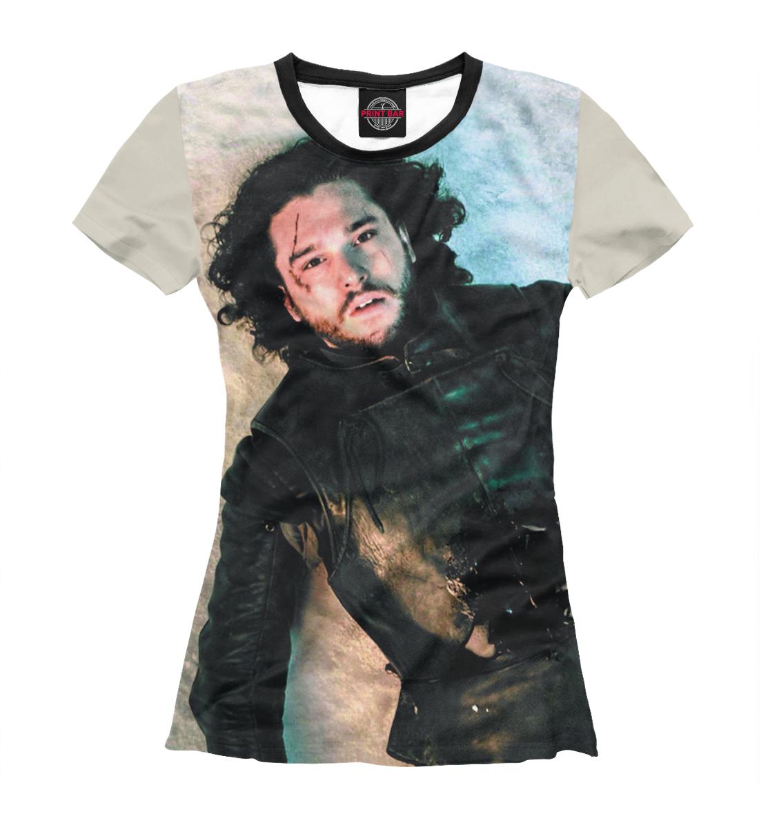 Купить Jon Snow, Printbar, Футболки, IGR-657276-fut-1