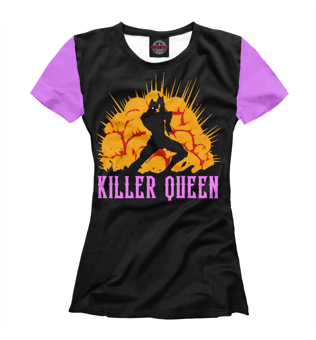 Купить Killer Queen, Printbar, Футболки, ANR-830953-fut-1