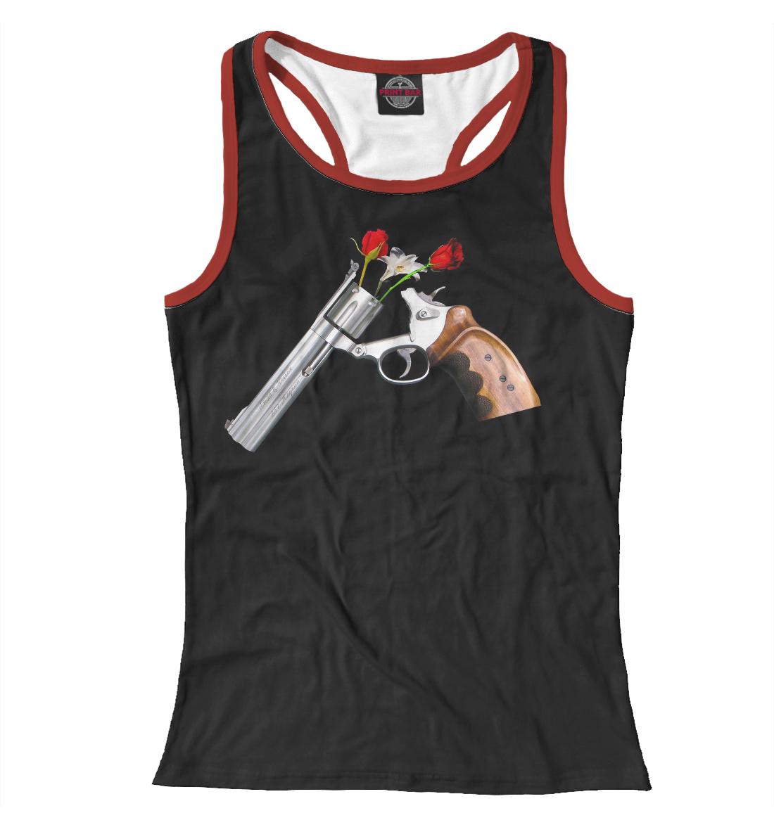 Купить Guns and Roses, Printbar, Майки борцовки, GNR-710936-mayb-1