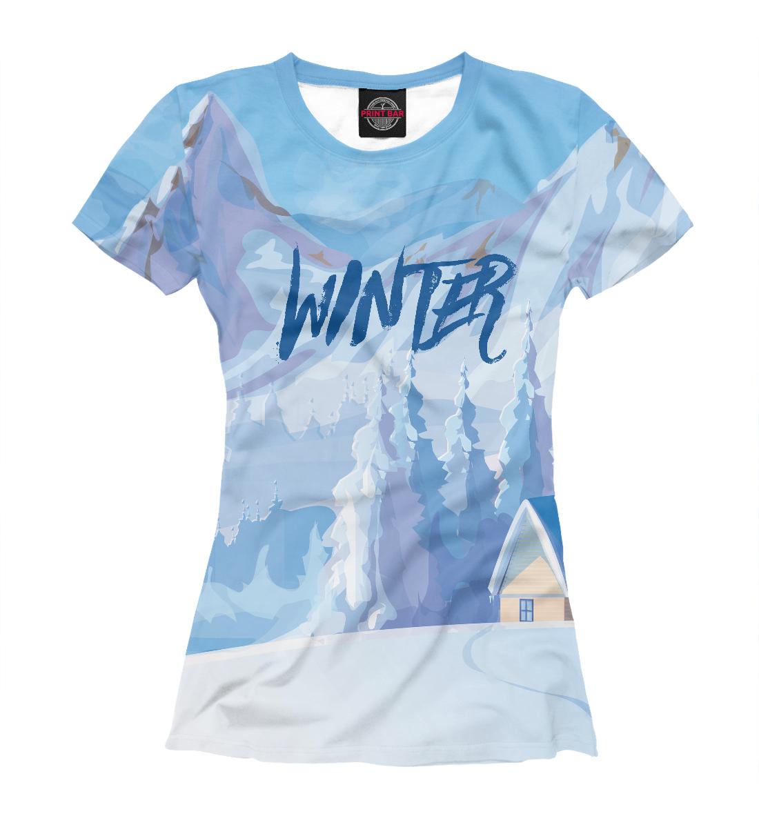 Купить Winter, Printbar, Футболки, NOV-983832-fut-1