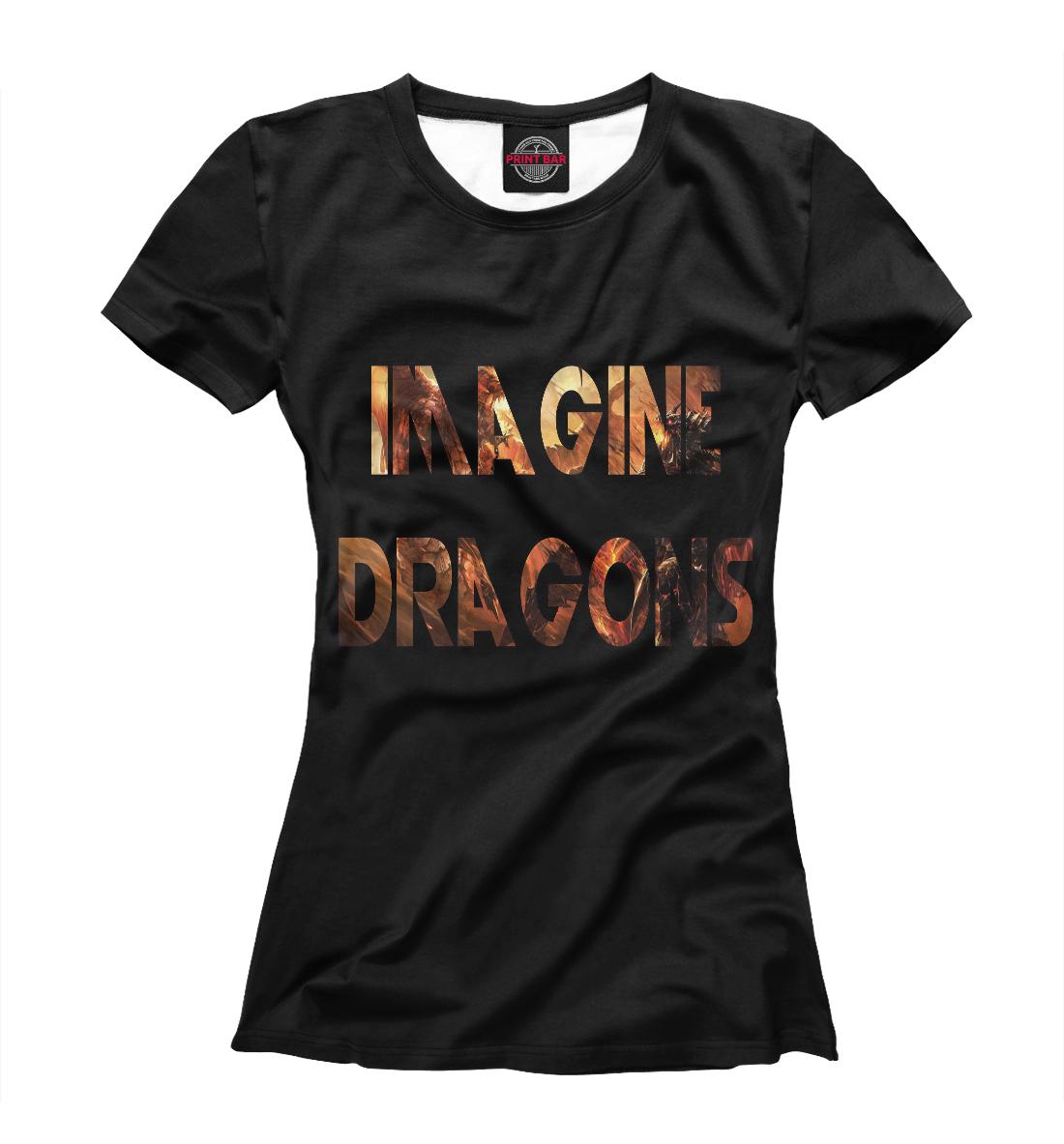 Купить Imagine Dragons, Printbar, Футболки, IMA-426714-fut-1