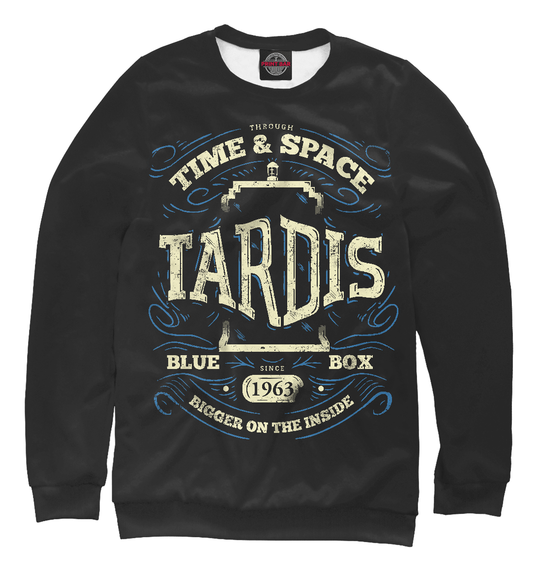 Купить Tardis - Time & Space, Printbar, Свитшоты, DOK-235604-swi-1