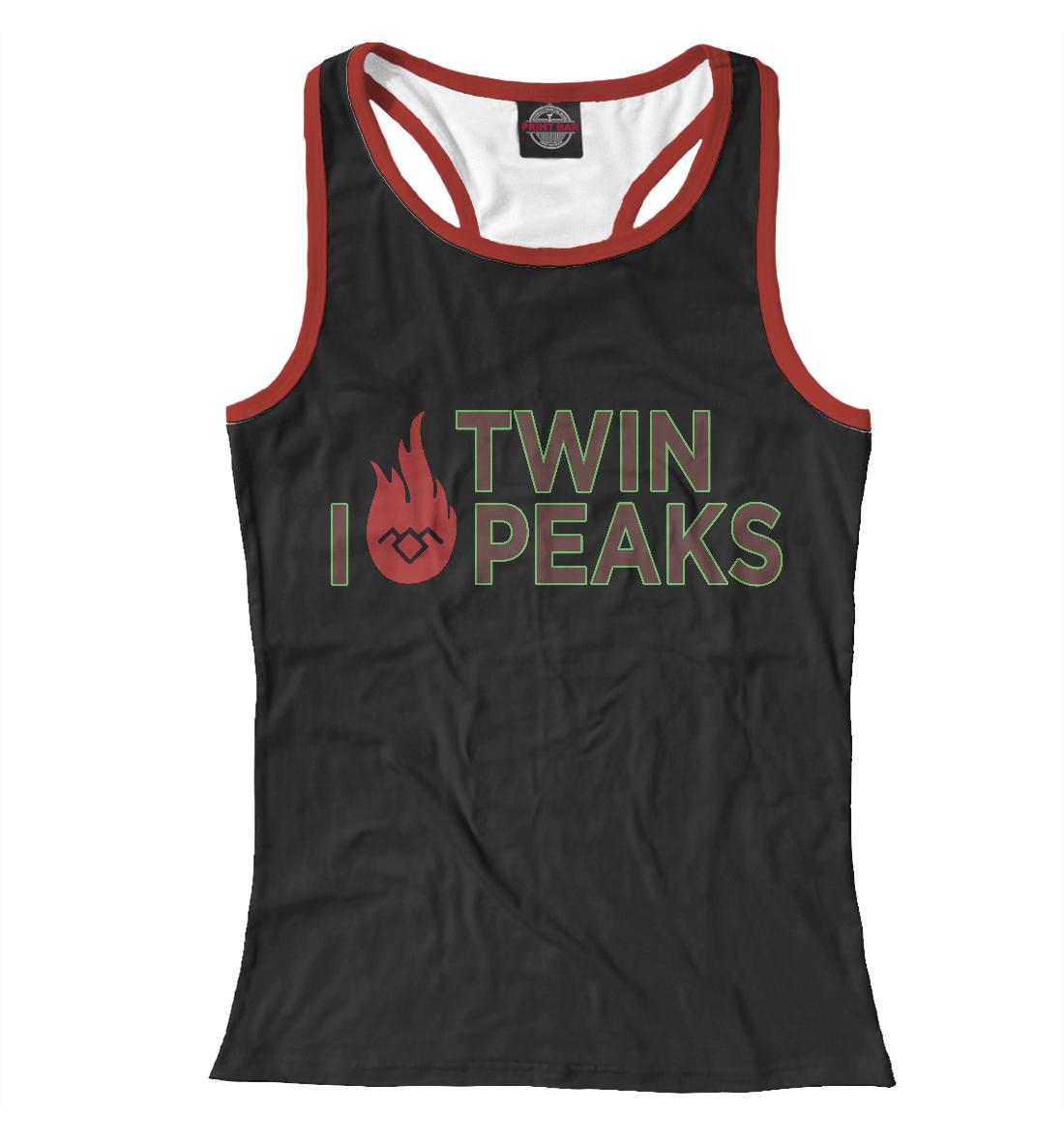 Купить I Love Twin Peaks, Printbar, Майки борцовки, TPS-723409-mayb-1