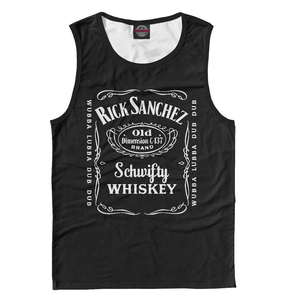 Купить Rick Sanchez Whiskey, Printbar, Майки, RNM-354272-may-2