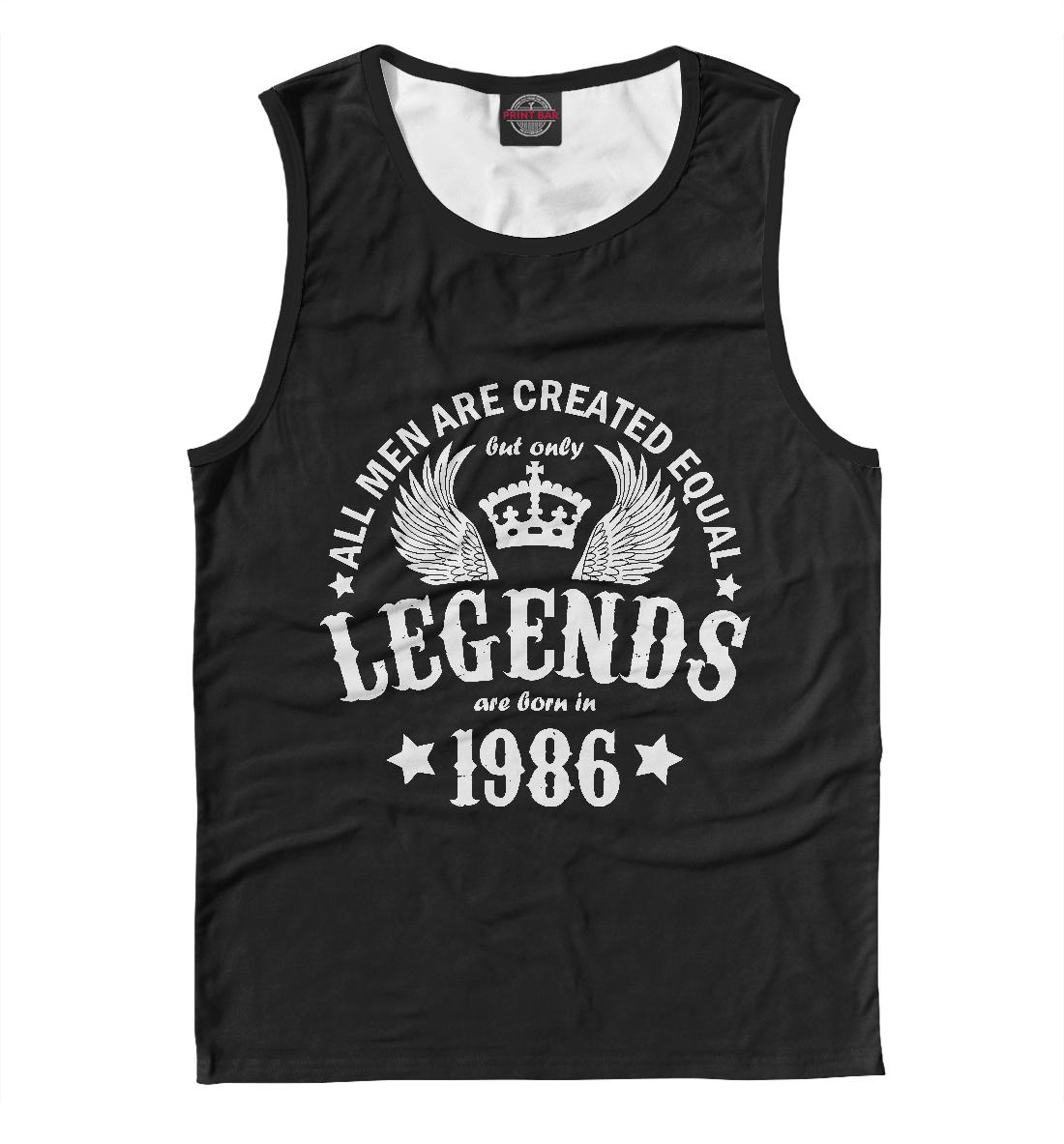 Купить 1986 - рождение легенды, Printbar, Майки, DVS-666156-may-2