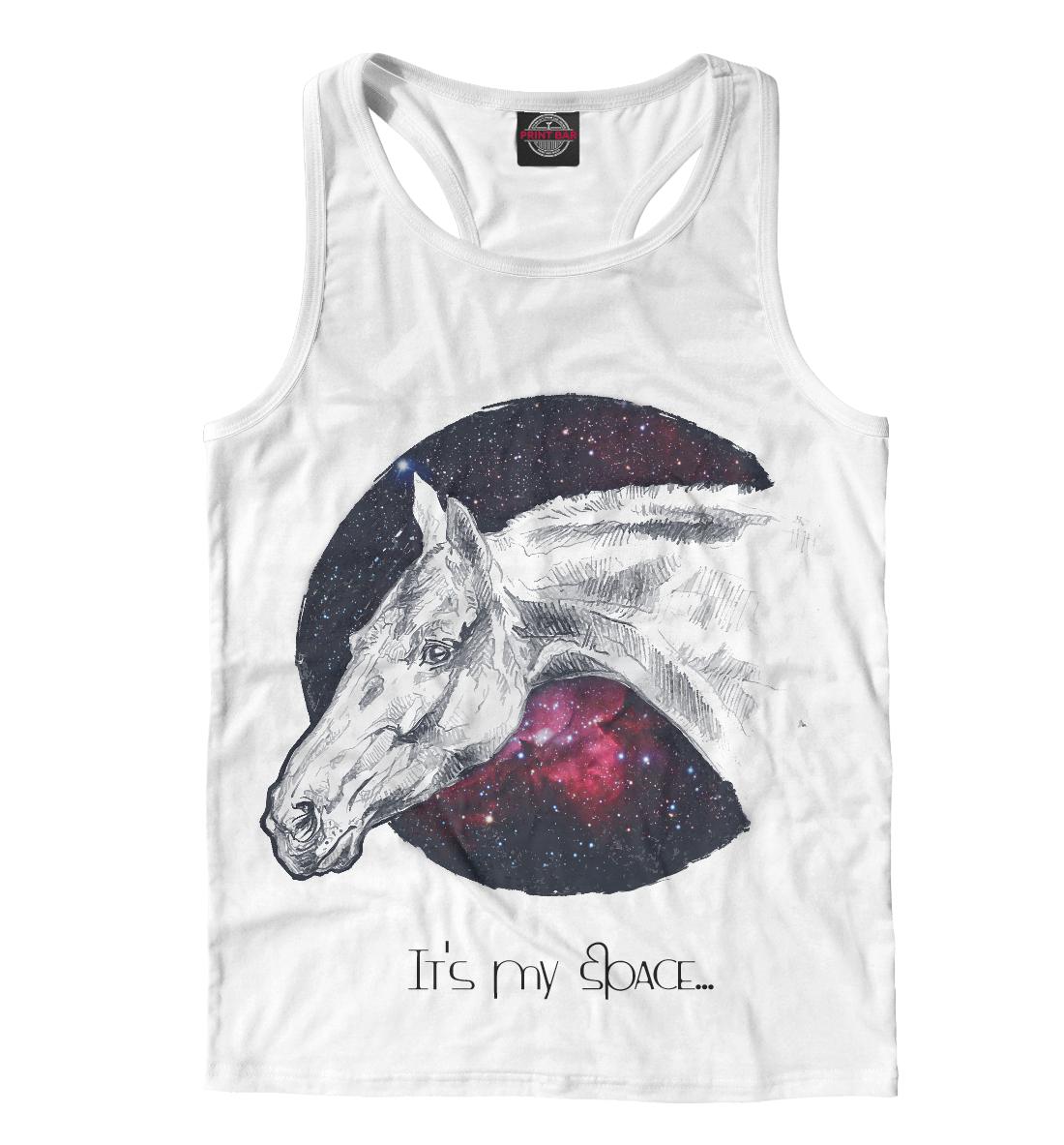 Купить Мой космос - лошади, Printbar, Майки борцовки, LOS-994026-mayb-2