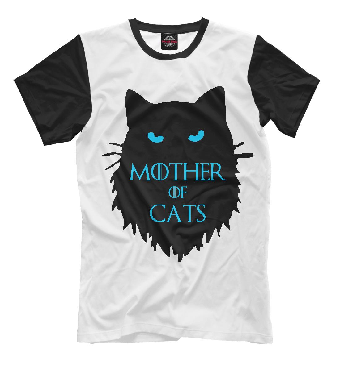 Купить Mother of cats, Printbar, Футболки, CAT-113900-fut-2
