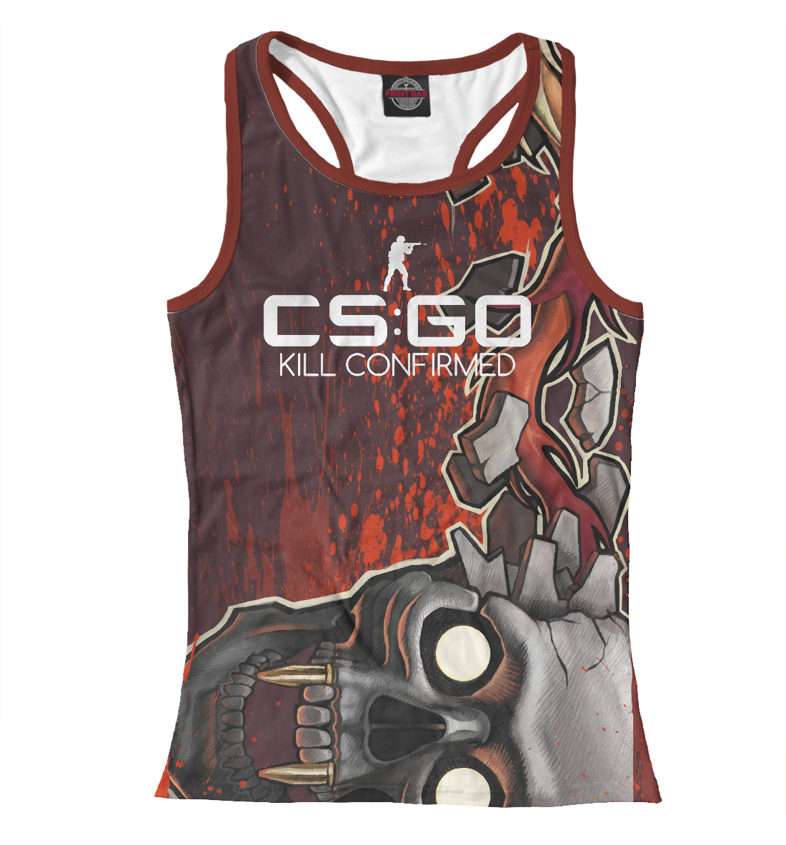 Купить CS:GO / Kill Confirmed, Printbar, Майки борцовки, COU-722117-mayb-1