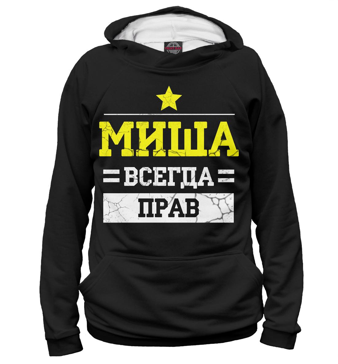 Купить Миша, Printbar, Худи, MCH-265572-hud-2