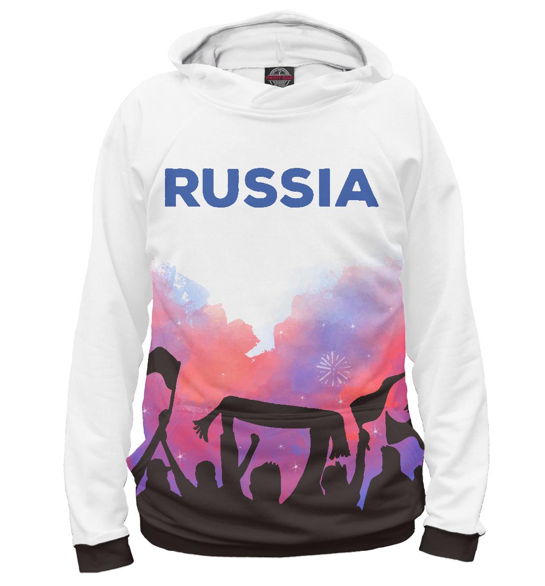 Купить Футбол Россия, Printbar, Худи, FTO-806227-hud-1