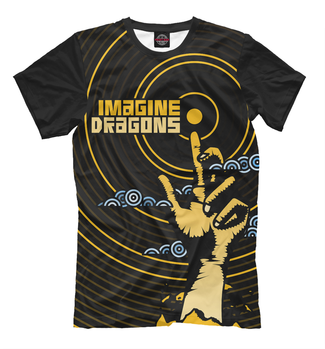 Купить Imagine Dragons, Printbar, Футболки, IMA-434510-fut-2