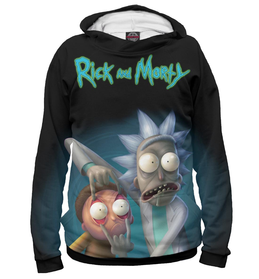 Купить Rick and Morty, Printbar, Худи, RNM-473752-hud-1