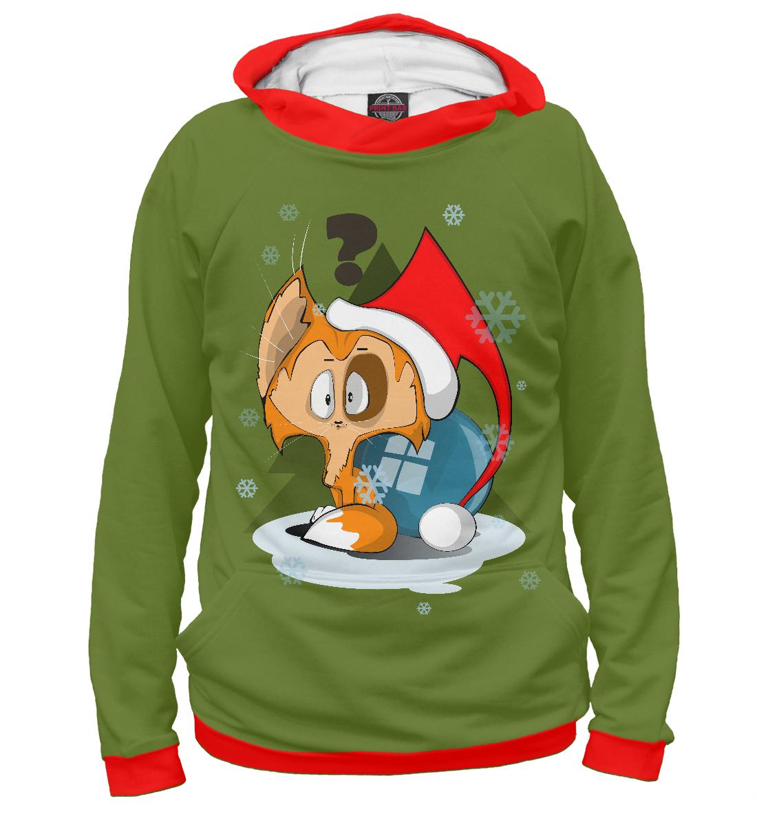 Купить Маленький Дед Мороз, Printbar, Худи, CAT-896496-hud-2