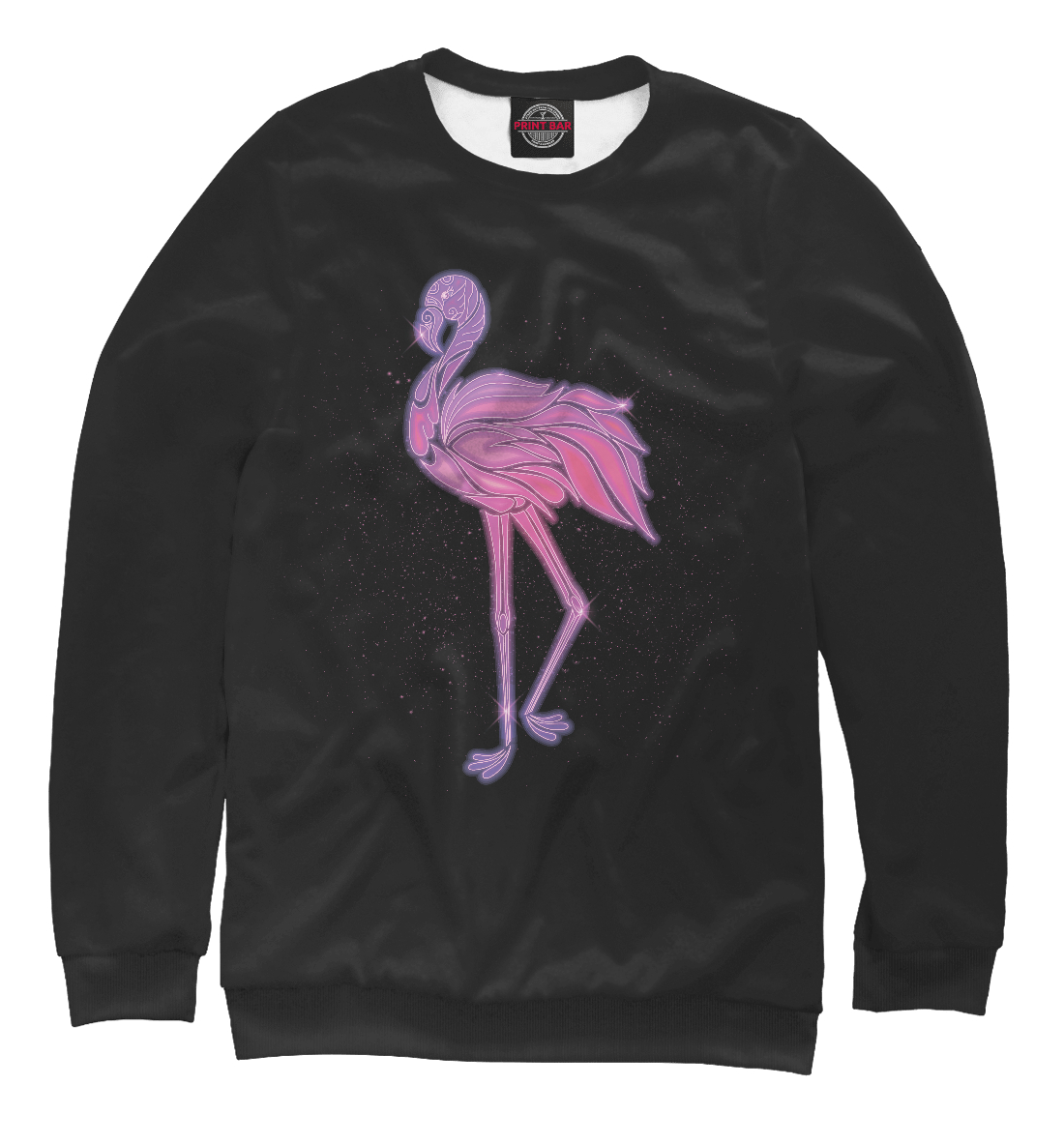Розовый фламинго, Printbar, Свитшоты, PTI-348678-swi-1  - купить со скидкой