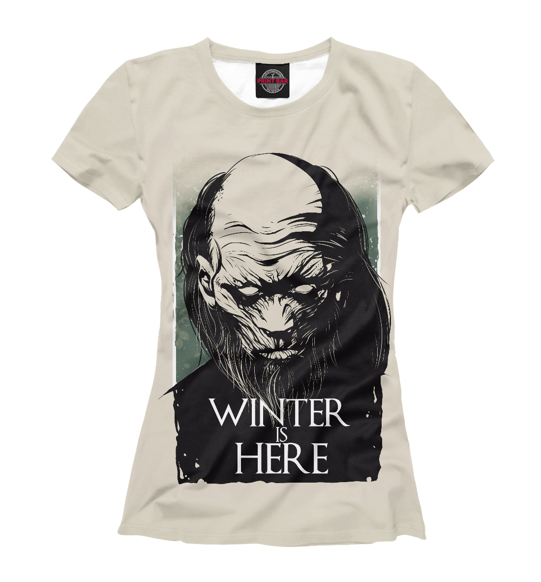 Купить Winter Is Here, Printbar, Футболки, IGR-507702-fut-1