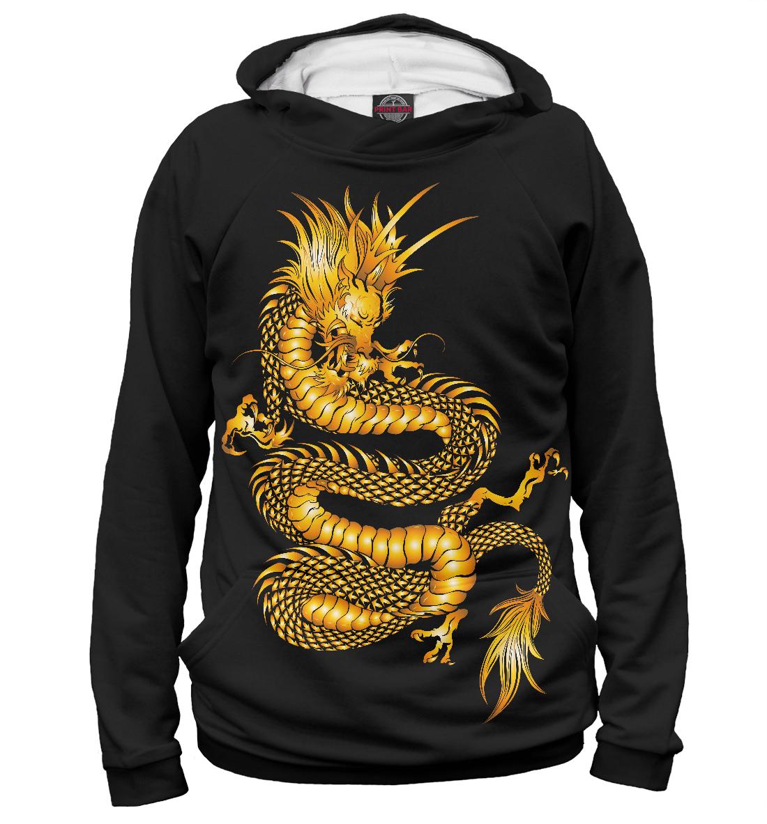Купить Золотой Дракон, Printbar, Худи, DRA-480599-hud-1