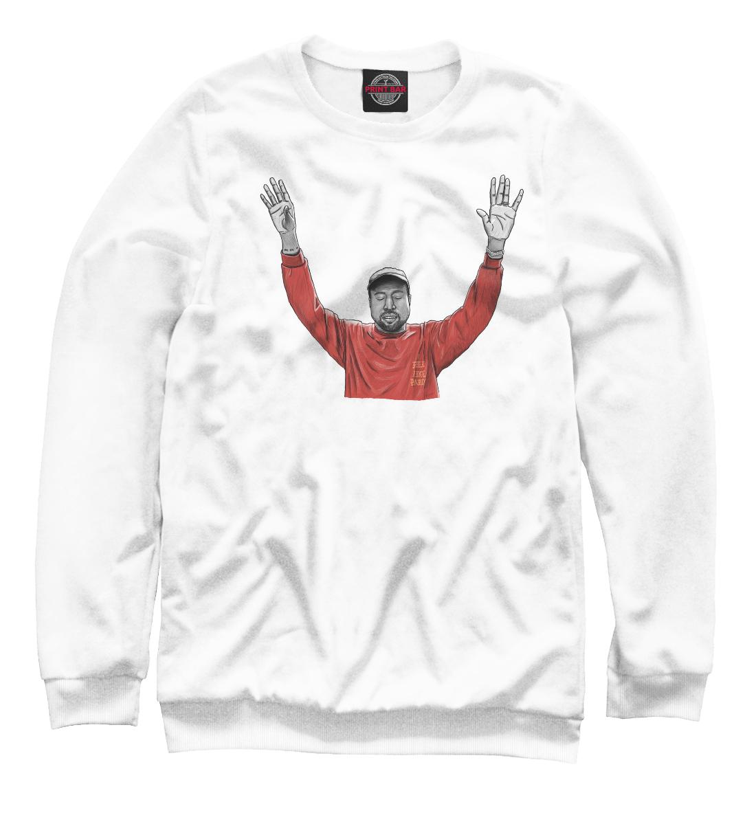 Купить Kanye West, Printbar, Свитшоты, KAW-965879-swi-2