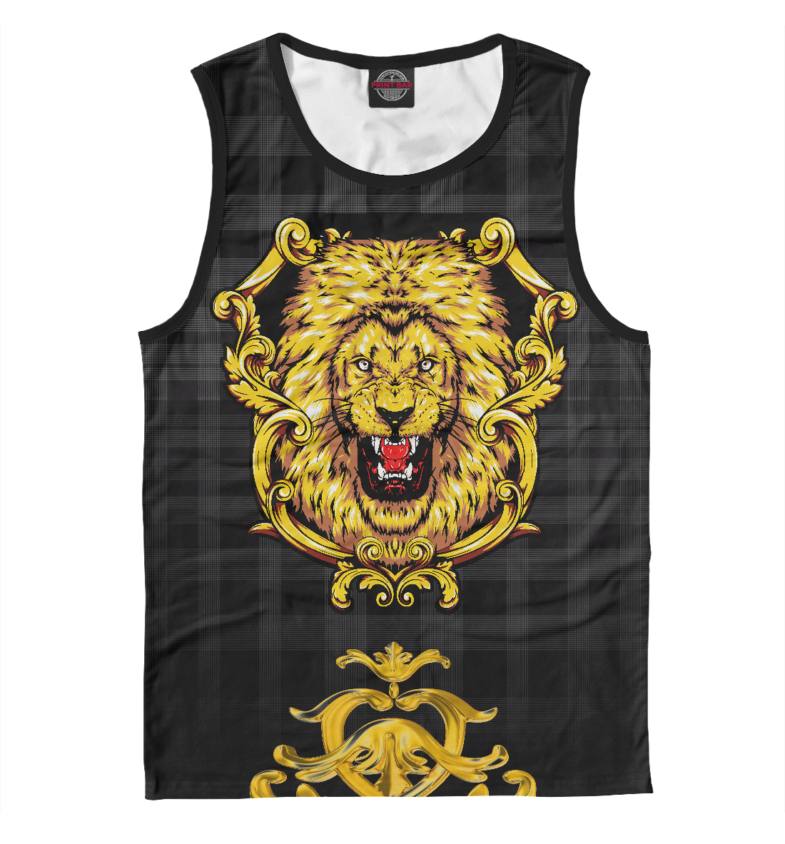 Купить Золотой лев, Printbar, Майки, APD-321463-may-2