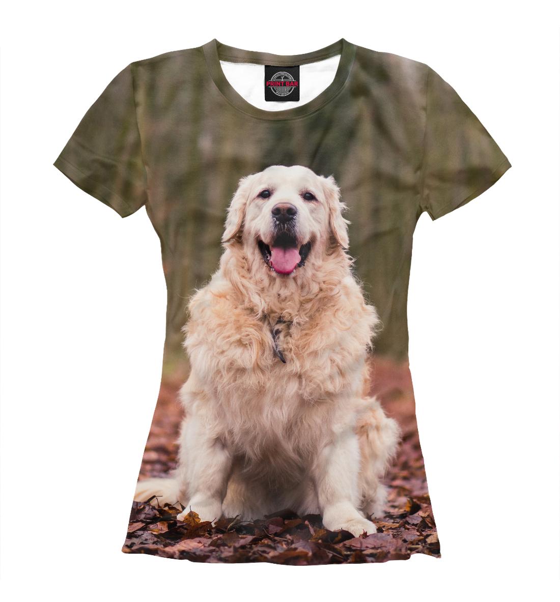 Купить Весенняя собака, Printbar, Футболки, DOG-607576-fut-1