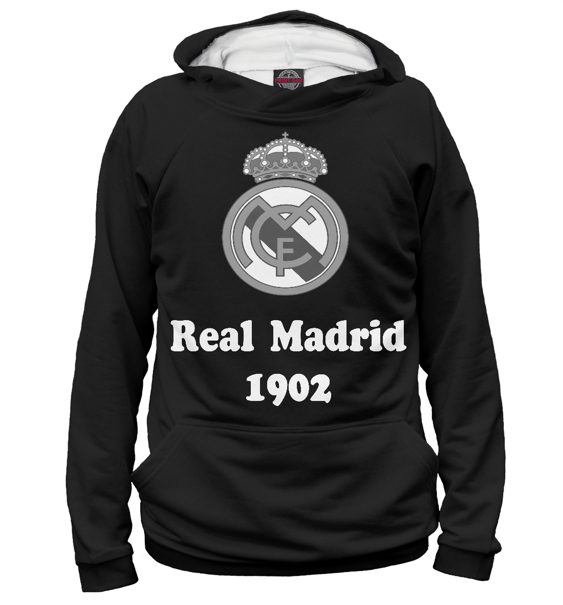 Купить Real Madrid, Printbar, Худи, REA-283469-hud-1