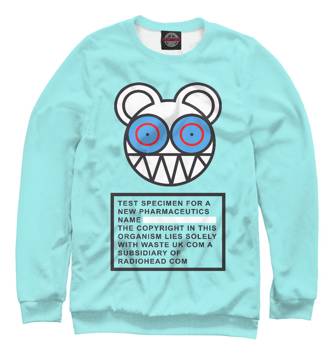 Купить Radiohead, Printbar, Свитшоты, RDH-774399-swi-2