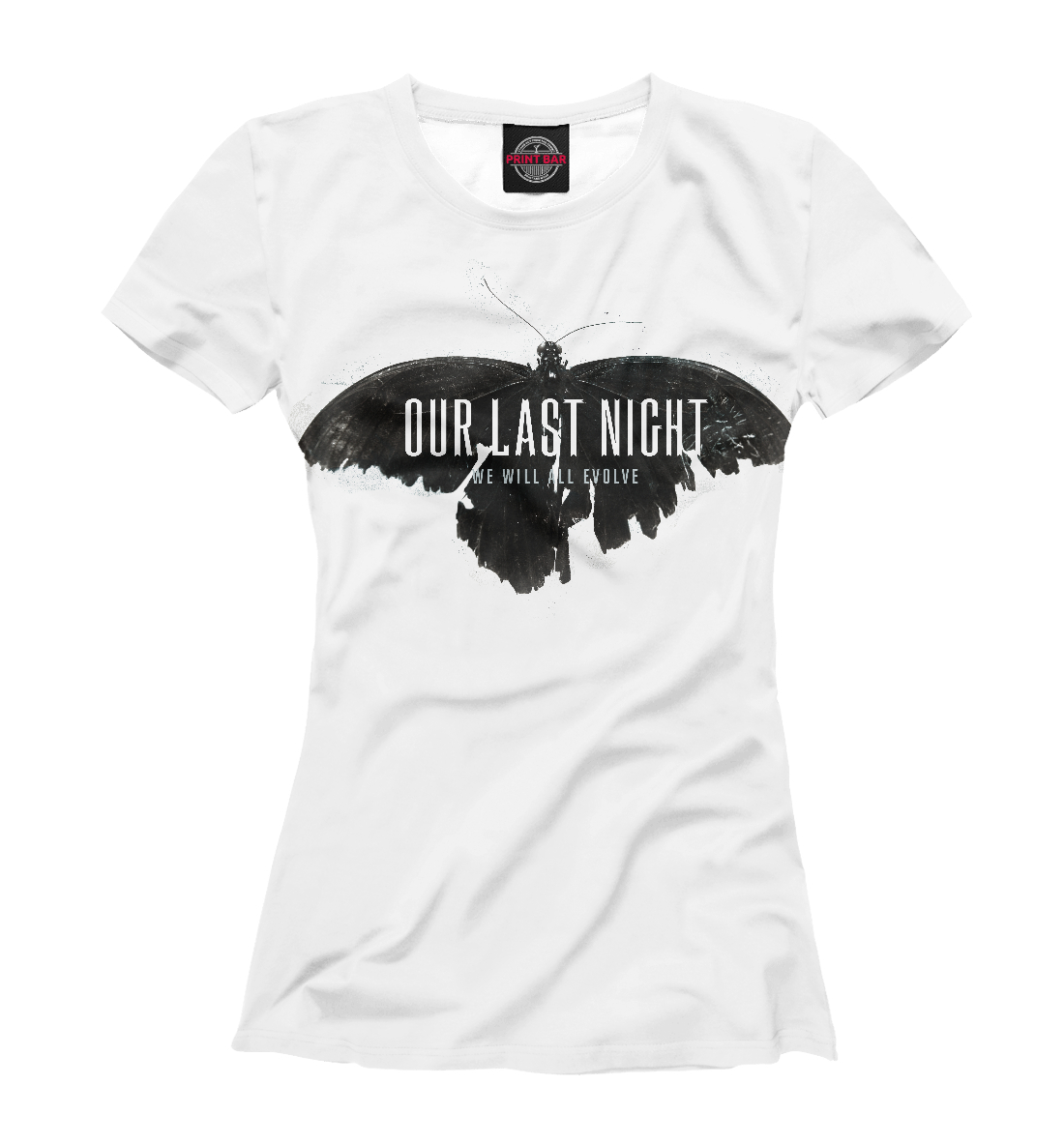 Купить Our Last Night, Printbar, Футболки, OUR-218479-fut-1