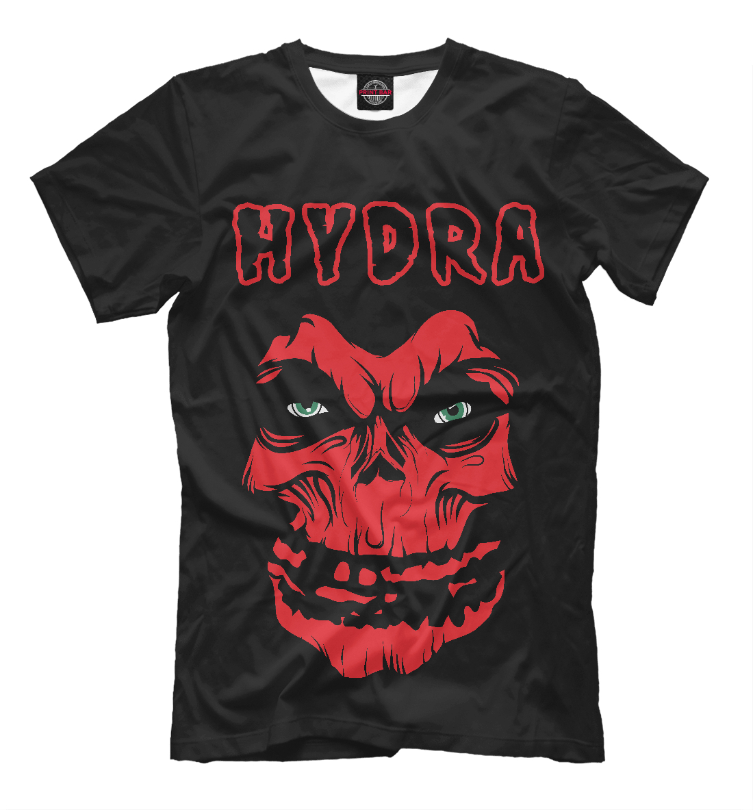 Купить Hydra Misfits, Printbar, Футболки, SKU-550255-fut-2