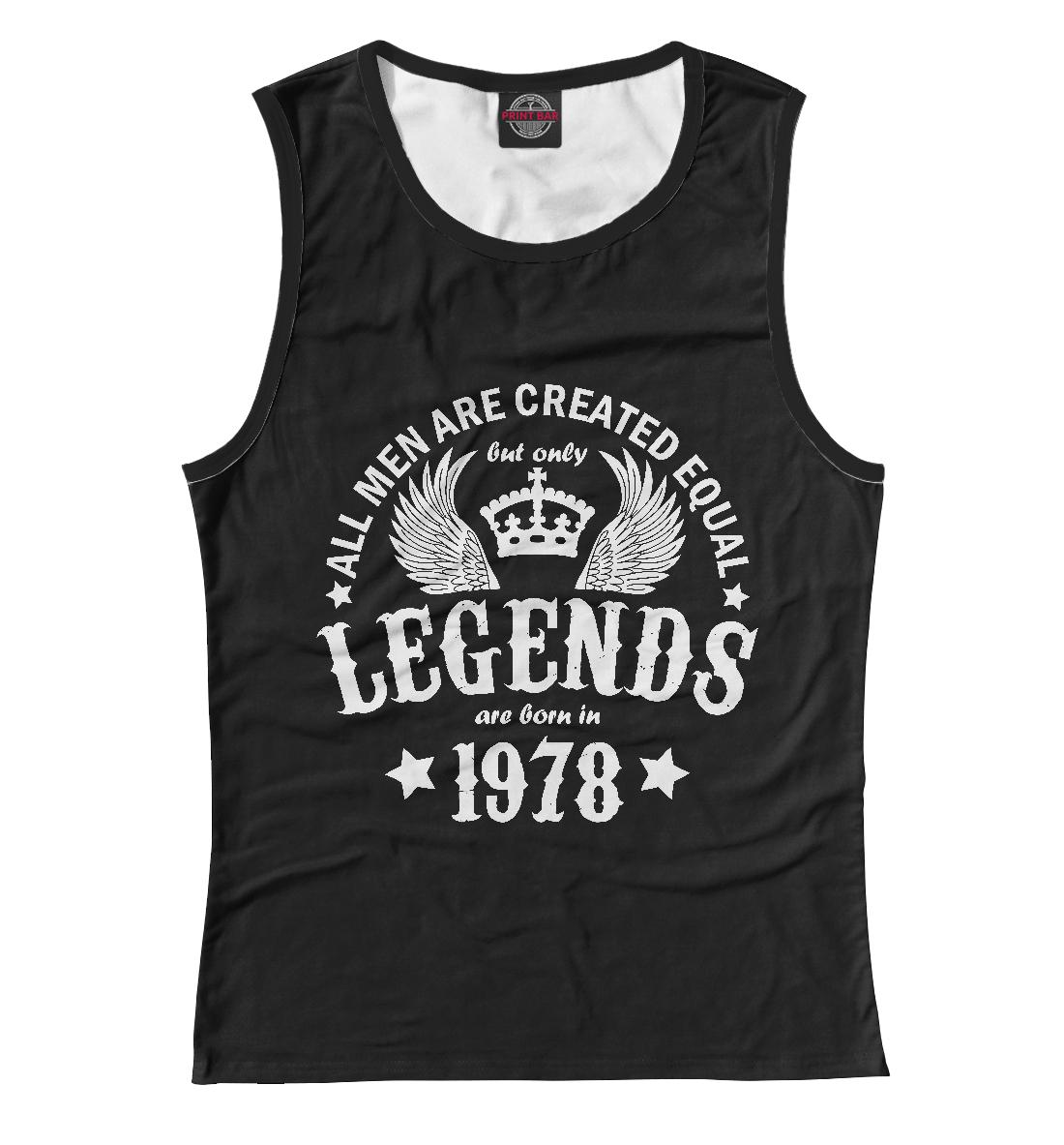 Купить 1978 - рождение легенды, Printbar, Майки, DSV-102942-may-1