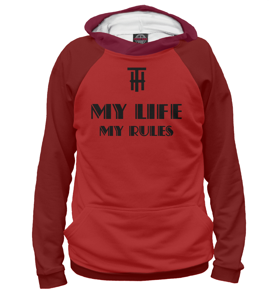MY LIFE-MY RULES printio футболка классическая my life my rules