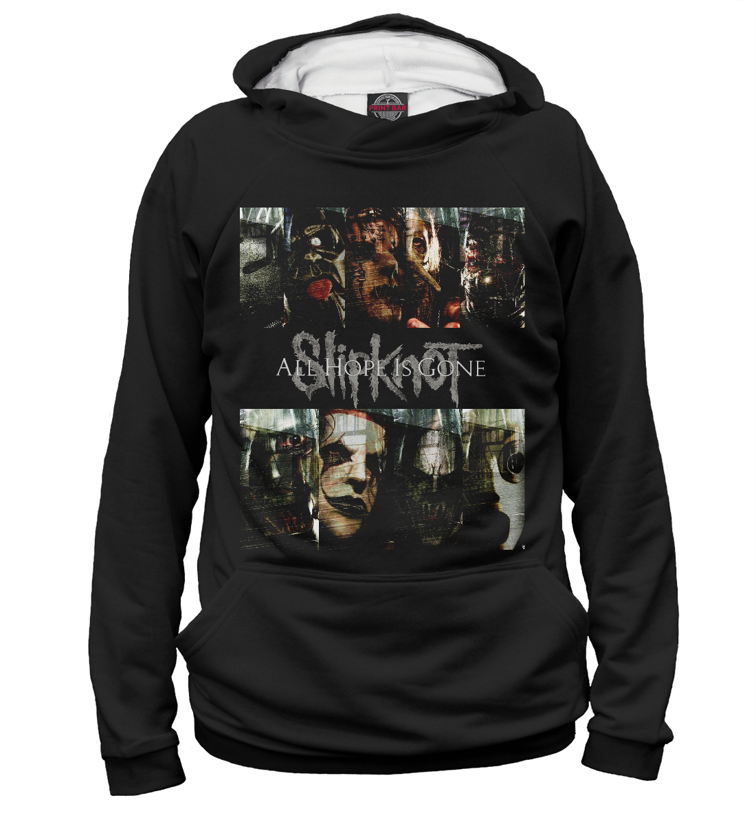 Купить Slipknot Band, Printbar, Худи, SLI-281864-hud-1