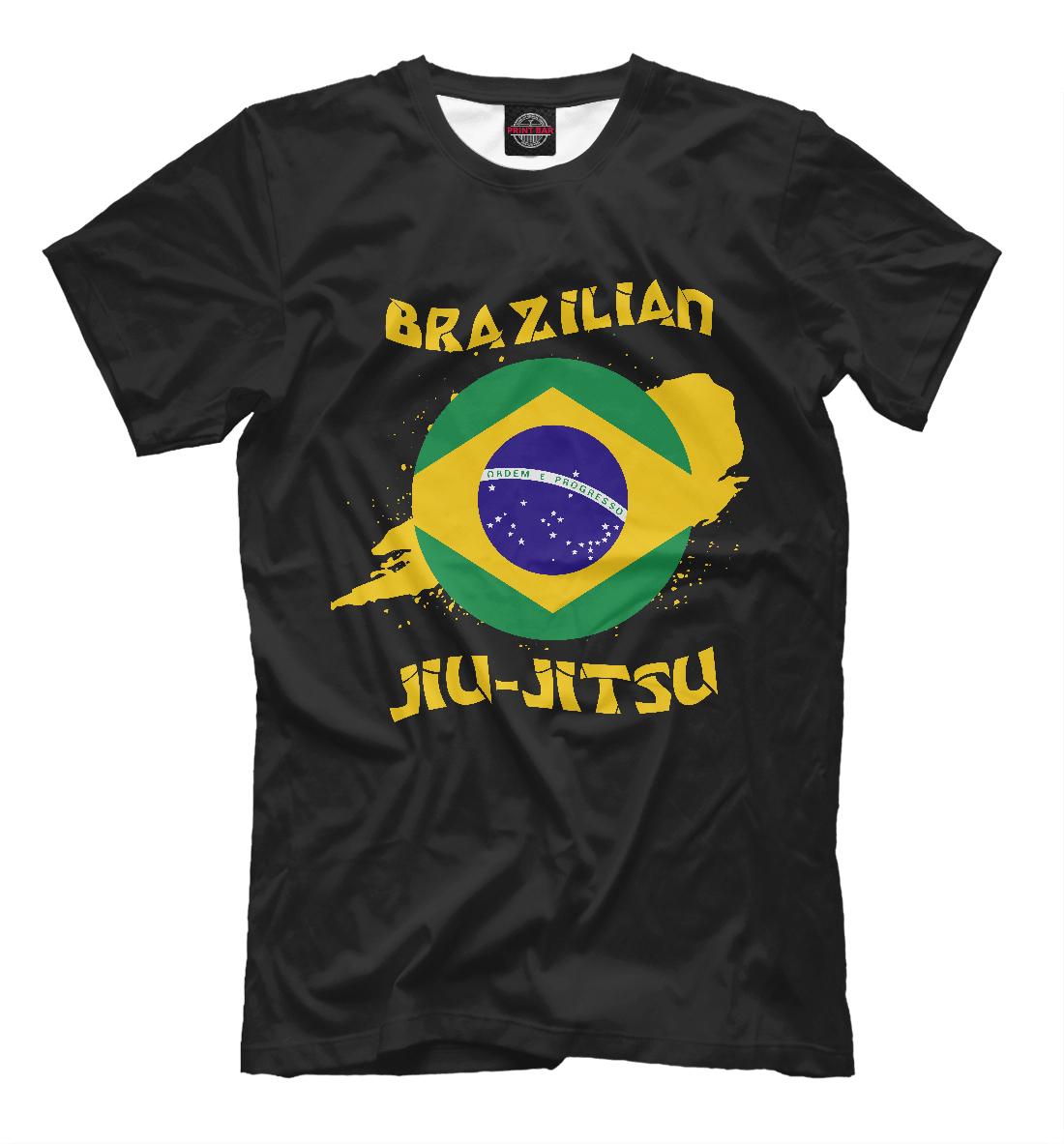 Купить Бразильское джиу-джитсу, Printbar, Футболки, EDI-680613-fut-2