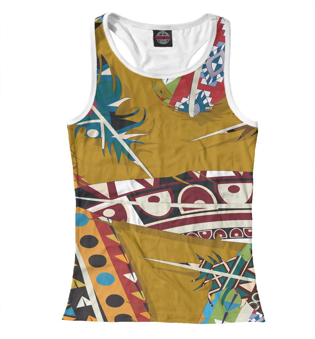 Африканский стиль, Printbar, Майки борцовки, BCH-268265-mayb-1  - купить со скидкой