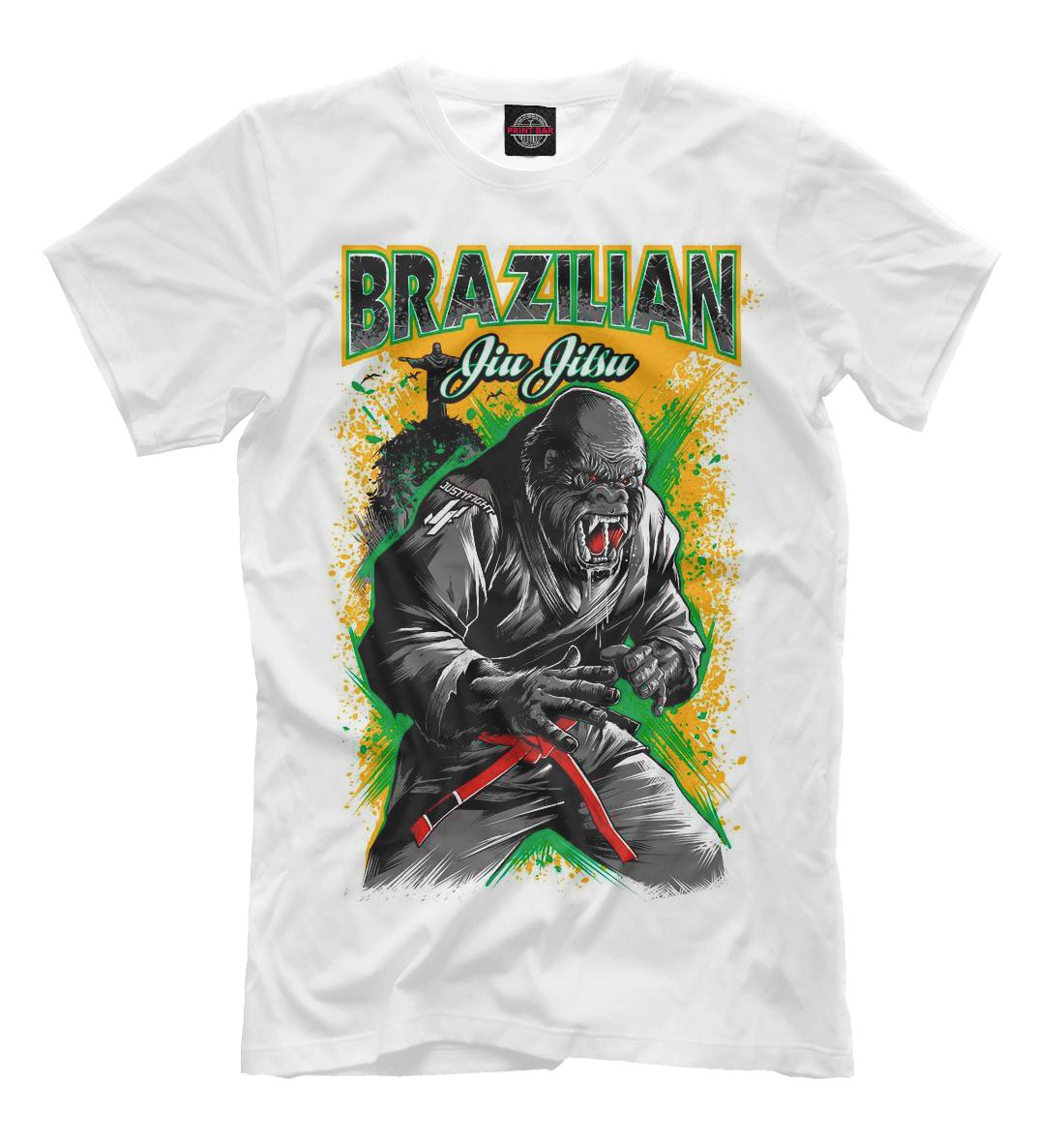 Купить Brazilian Jiu-Jitsu, Printbar, Футболки, EDI-706602-fut-2