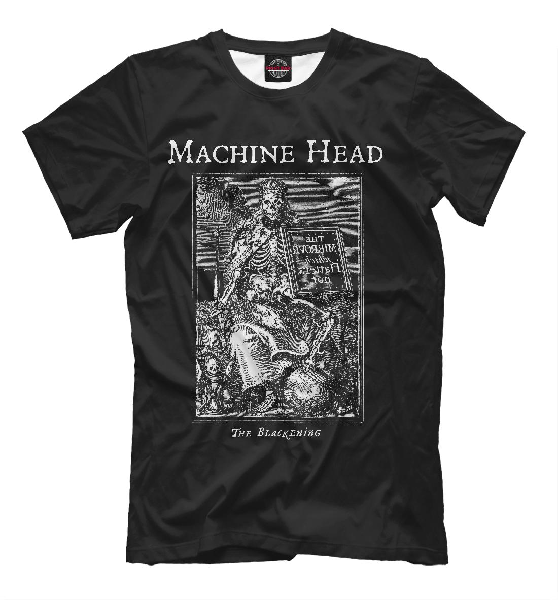 Купить Machine Head, Printbar, Футболки, MZK-354049-fut-2