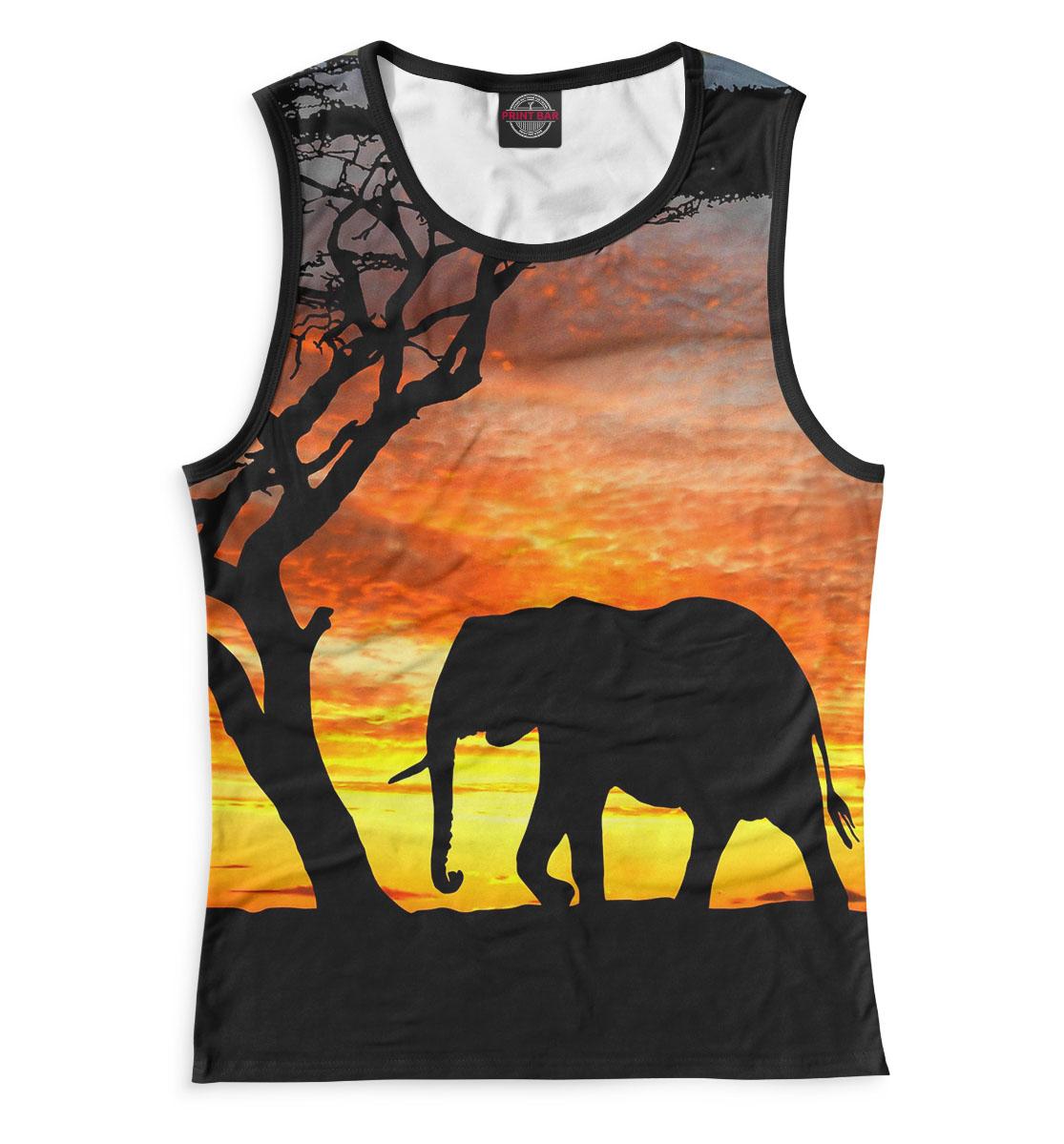 Купить Слоны, Printbar, Майки, SLO-280380-may-1