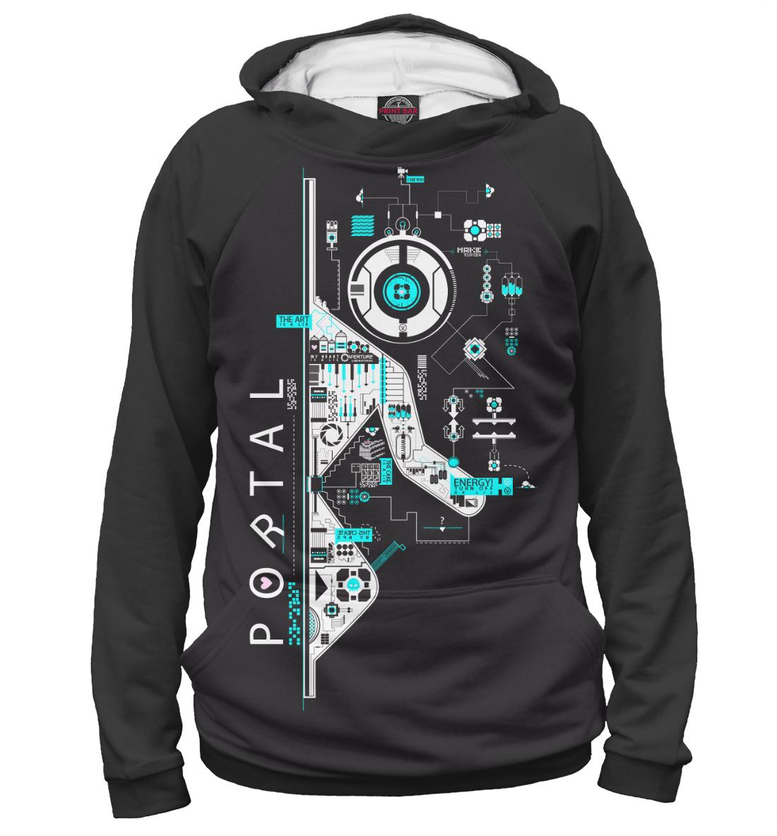 Купить Portal, Printbar, Худи, RPG-976615-hud-2