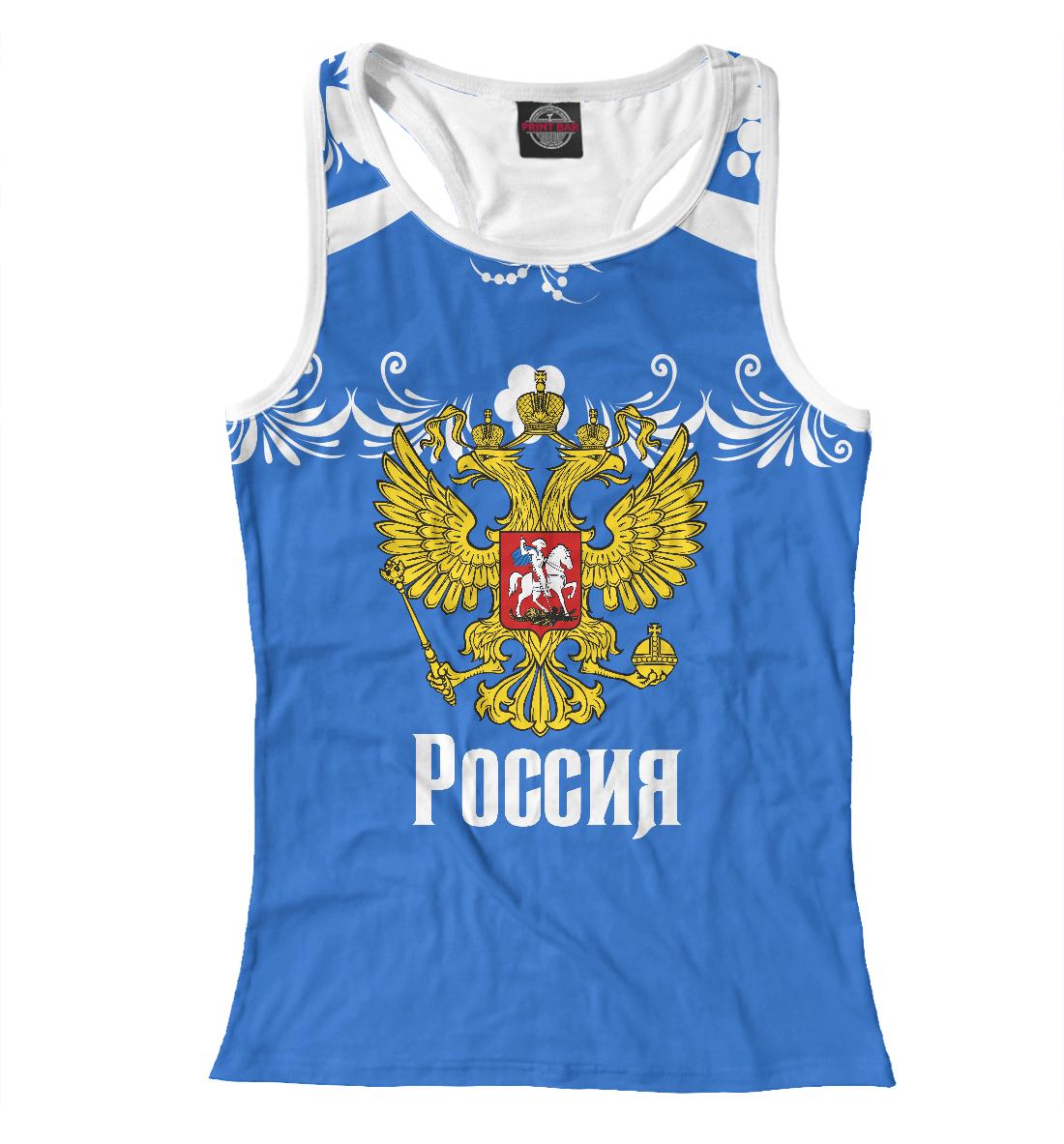 Купить Россия спорт, Printbar, Майки борцовки, BZN-901040-mayb-1