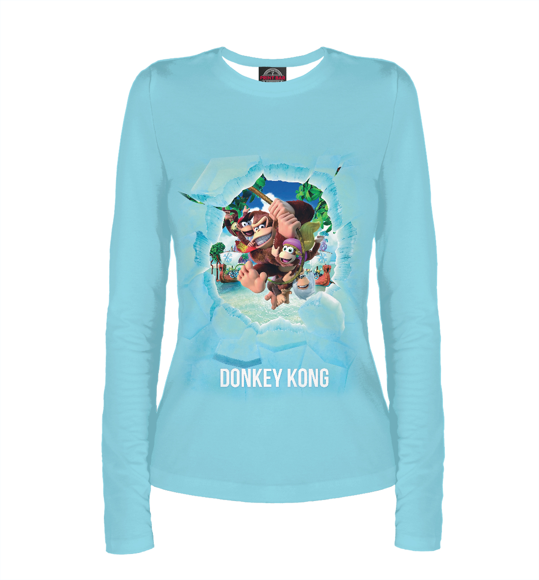 Купить Donkey Kong, Printbar, Лонгсливы, RPG-786965-lon-1