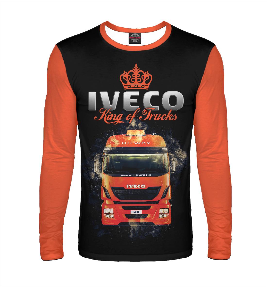Купить IVECO - король грузовиков, Printbar, Лонгсливы, GRZ-502294-lon-2
