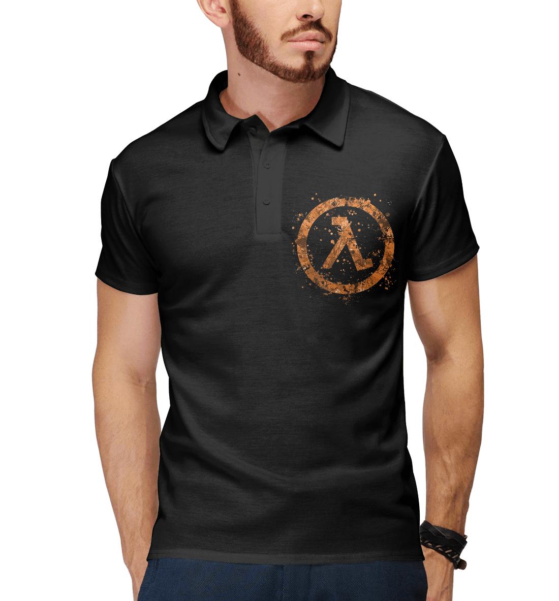 Купить Half-Life, Printbar, Поло, HLF-466119-pol-2