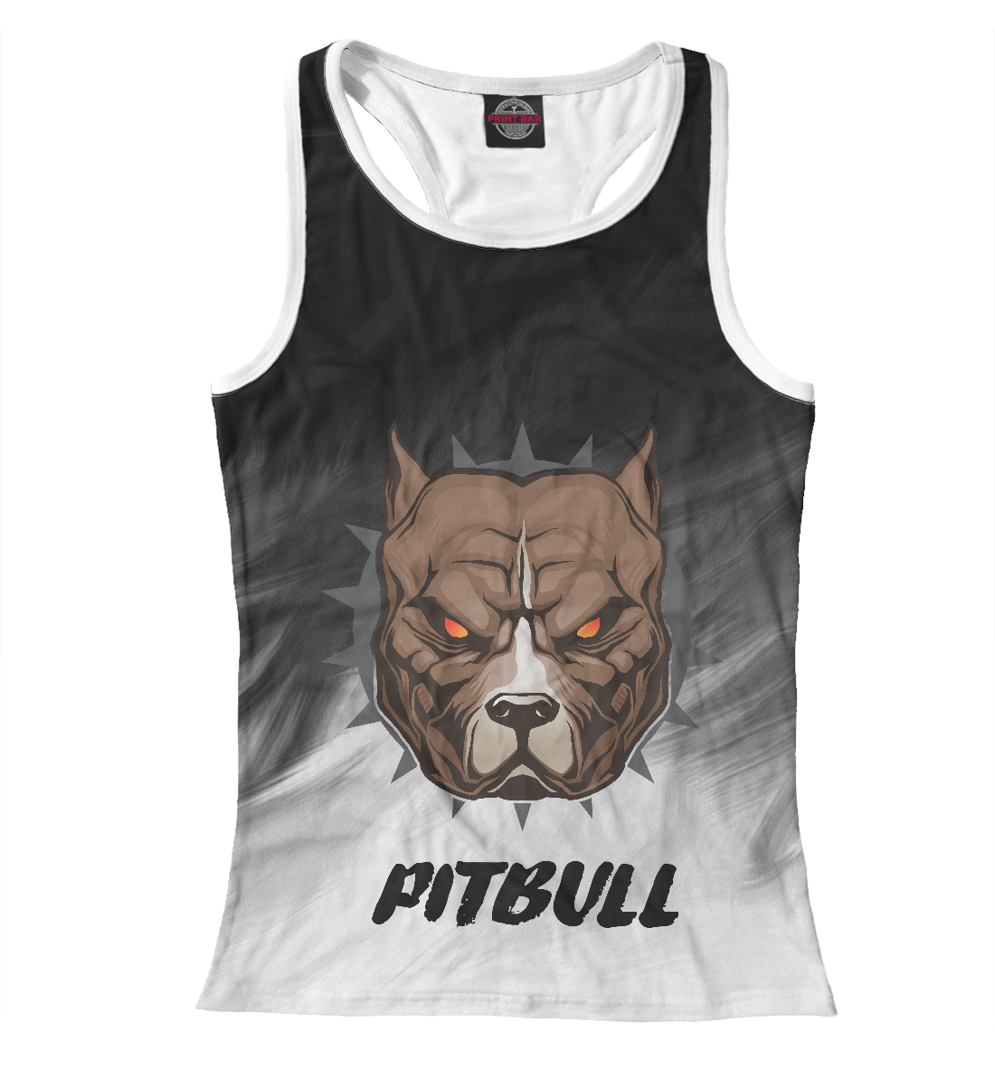 Купить Pitbull, Printbar, Майки борцовки, DOG-144963-mayb-1
