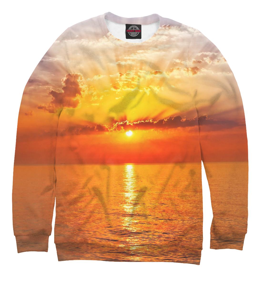Купить Потрясающий закат на море, Printbar, Свитшоты, SUN-572823-swi-1