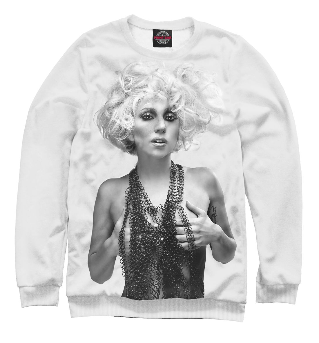 Купить Lady Gaga, Printbar, Свитшоты, ZNR-976690-swi-2