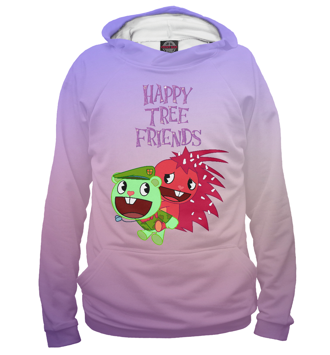 Купить Happy Tree Friends, Printbar, Худи, MFR-161276-hud-2