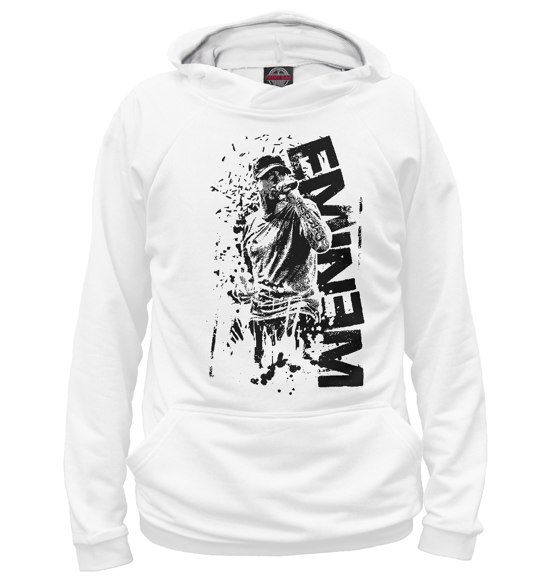 Купить Eminem, Printbar, Худи, EMI-438297-hud-1
