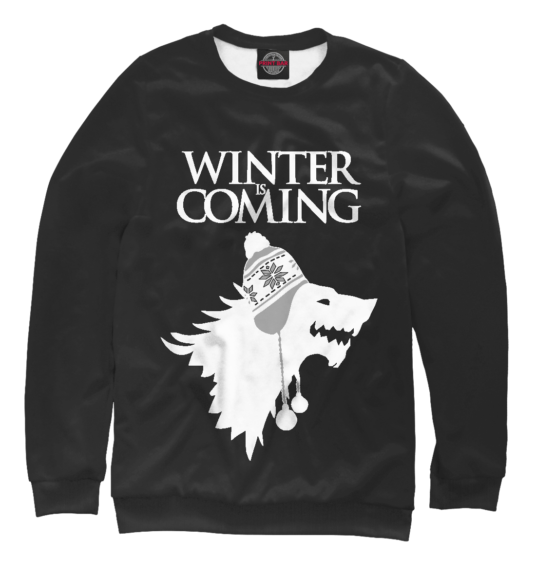 Купить Зима Близко, Printbar, Свитшоты, IGR-642710-swi-1